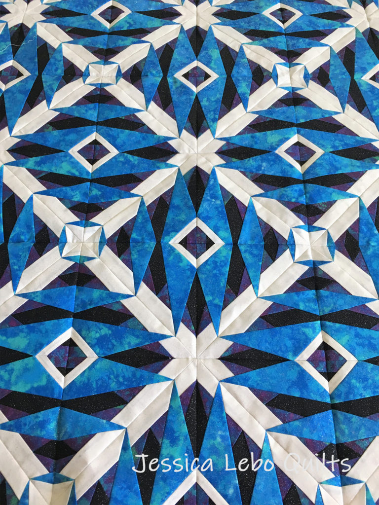 advanced foundation paper piecing quilt pattern