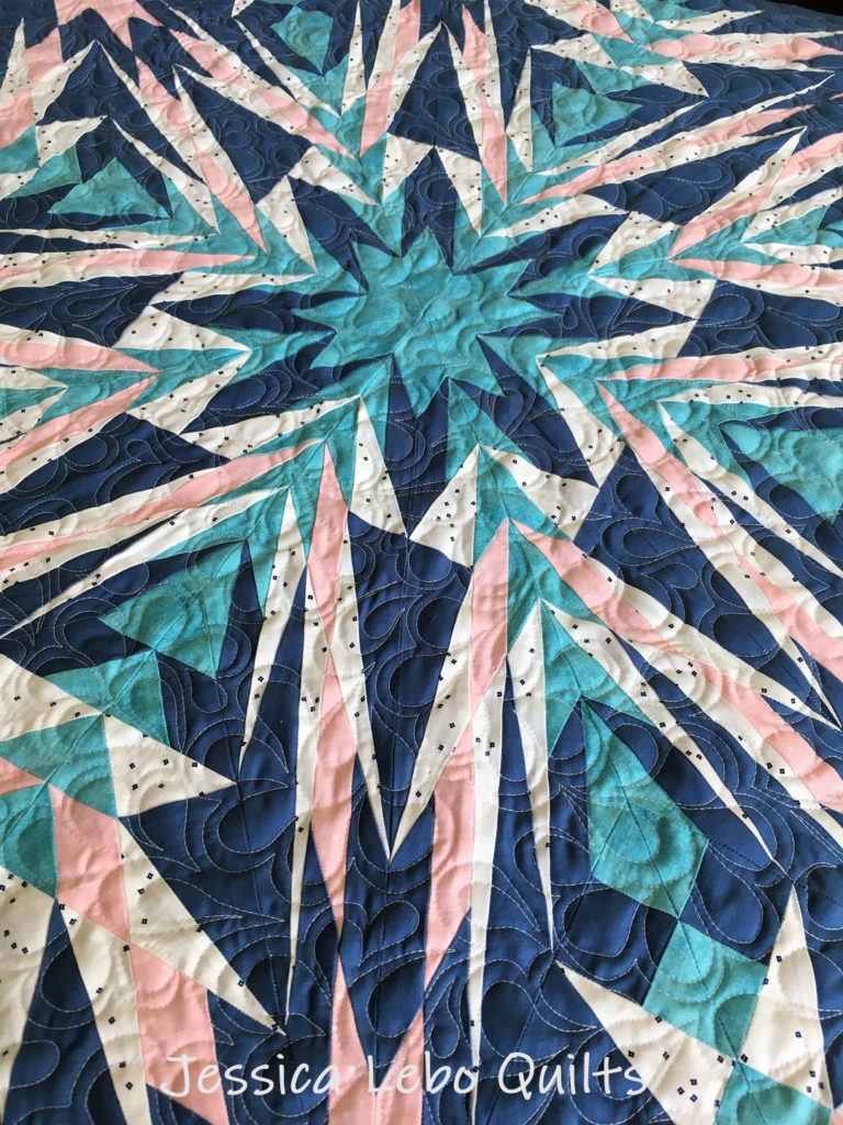 advanced foundation paper piecing quilt pattern riley blake fabric