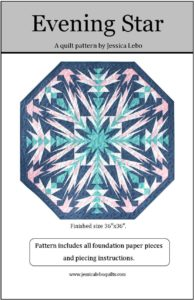 quilt pattern foundation paper pieced star