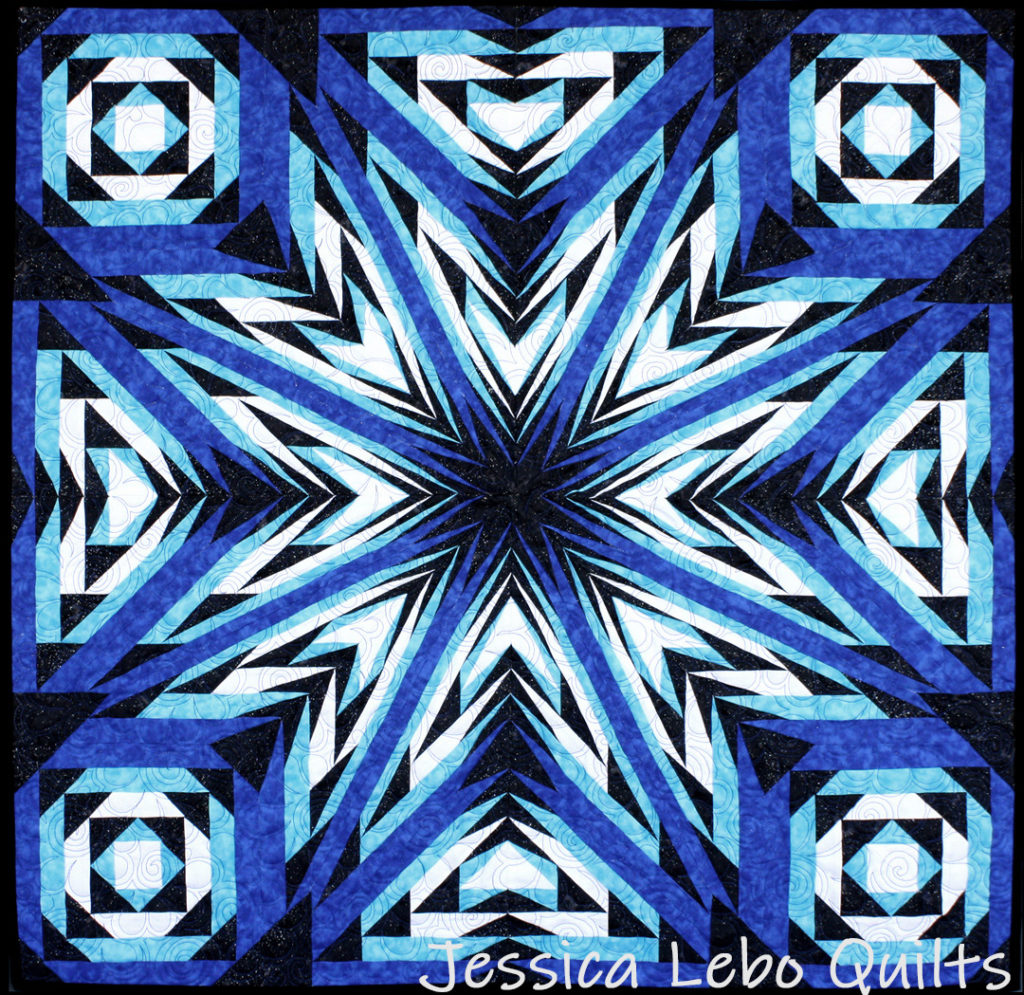 advanced foundation paper piecing pattern kaleidoscope star