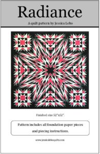 foundation paper pieced quilt pattern kaleidoscope star