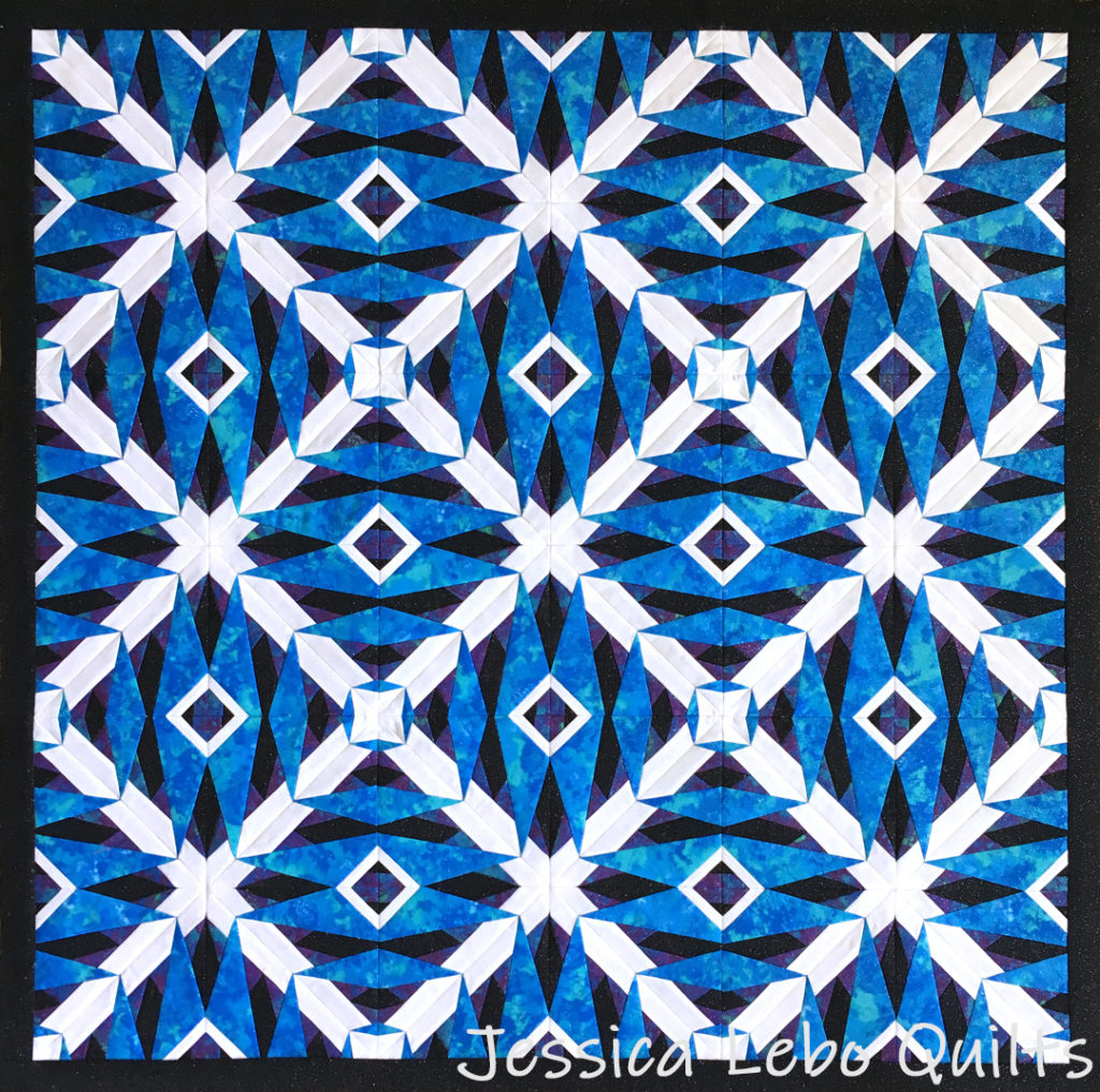 foundation paper piecing advanced quilt pattern