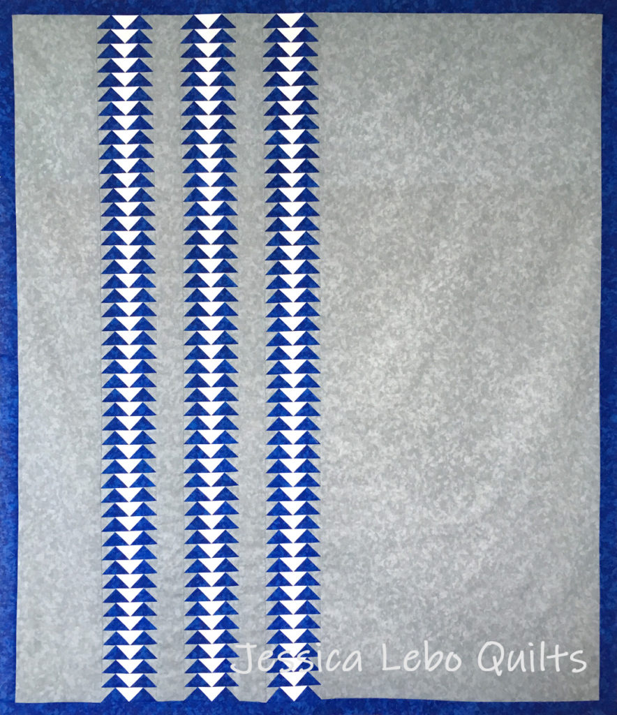 flying geese foundation paper piecing quilt pattern