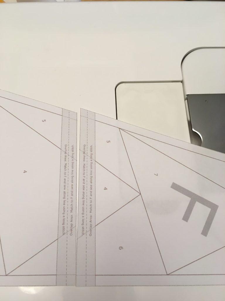 making larger foundation paper patterns