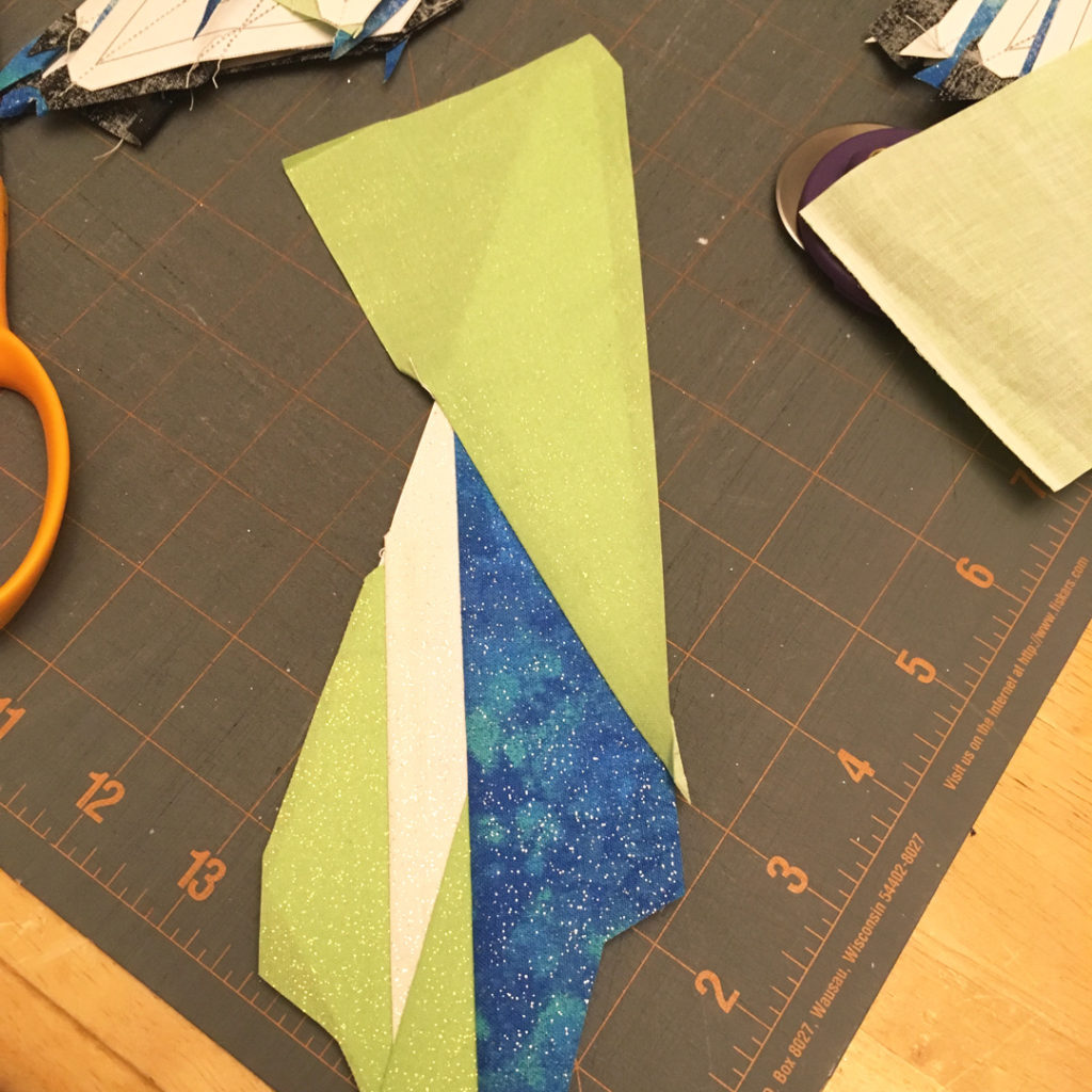 quilting foundation piecing how to