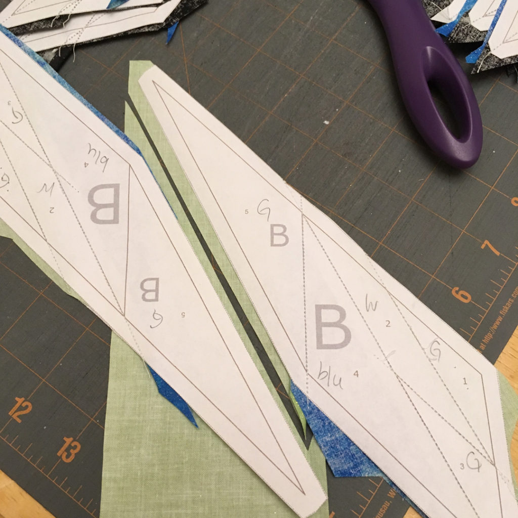 difficult foundation paper piecing