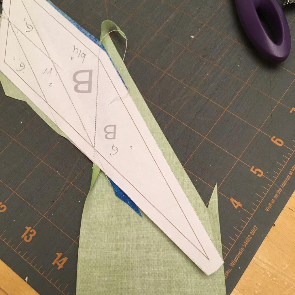 paper piecing complex designs