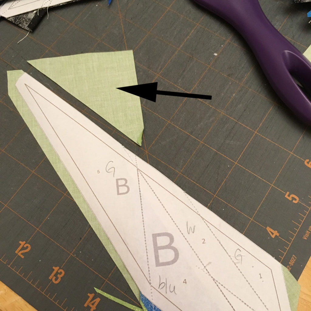 quilting how to paper piece