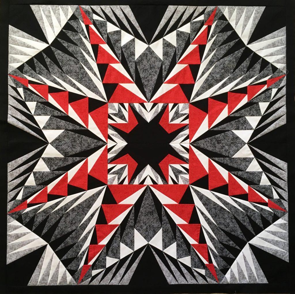 advanced foundation pieced quilt
