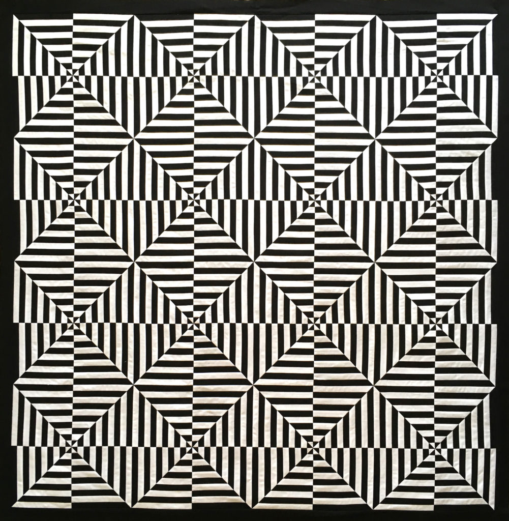 3D Illusion quilt pattern